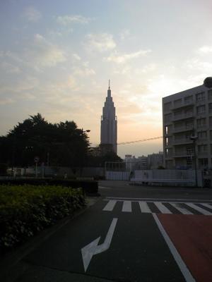 新宿,夕暮れ