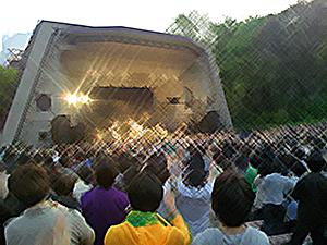日比谷野外音楽堂のGoing Under Groundライブ