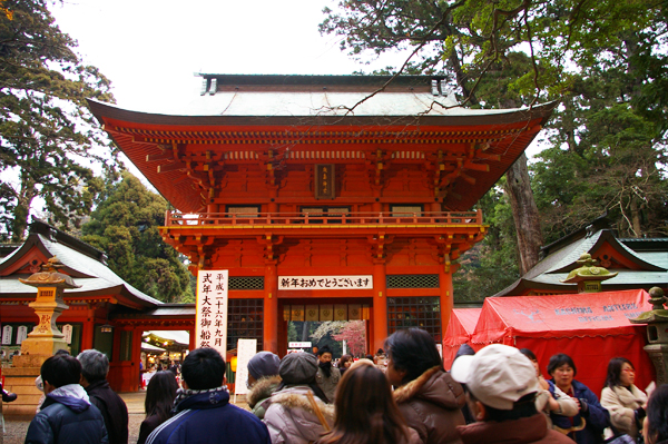 2012年:初詣@鹿島神宮